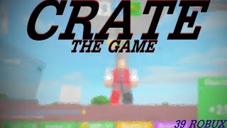 ROBLOX BEST CLICKER GAME FOR UNDER 50 ROBUX| Crate: The Game (I FOUND A GLITCH)
