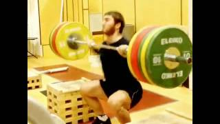 Olympic Weightlifter Dancing