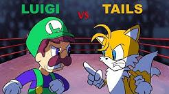 Luigi vs Tails - Cartoon Rap Battles (Sonic)