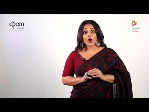 Vidya Balan spreading awareness on Piracy & its ill effects