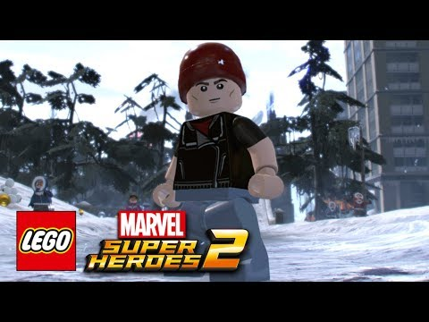 LEGO Marvel Super Heroes 2 - How To Make Delsin Rowe (inFamous: Second Son)
