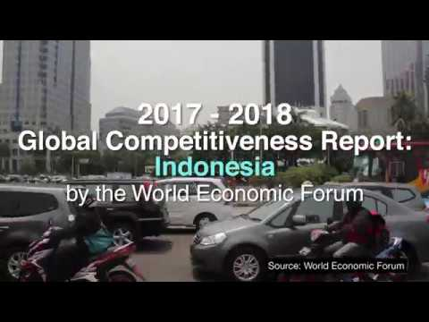 Indonesia Climbs up the 2017-2018 Global Competitiveness Index