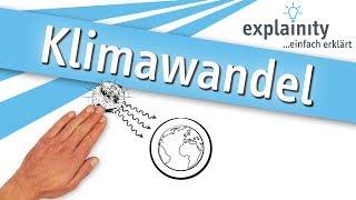 Klimawandel einfach erklärt (explainity® Erklärvideo)
