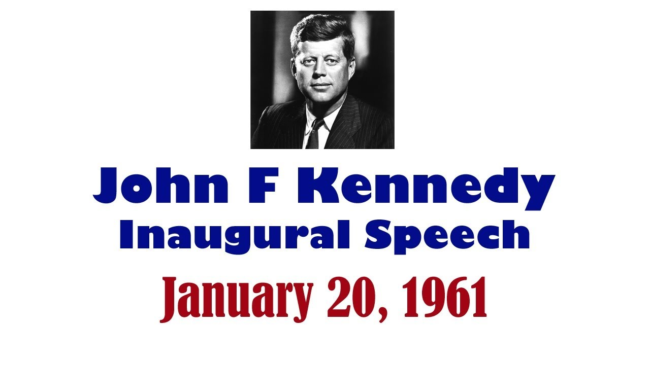 speech for john f kennedy John fitzgerald jack kennedy (may 29, 1917 – november 22, 1963), commonly referred to by his initials jfk, was an american politician who served as the.