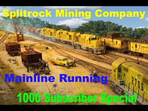 Mainline Running 1000 Subscribers Special