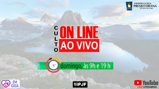 ((( CULTO ON LINE - DOMINGO NOITE - 07/06/2020 )))