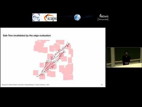 "ICAPS 2018: Aditya Mandalika on ""Lazy Receding Horizon A* for Efficient Path Planning in ..."""