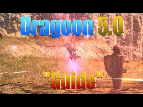 "FFXIV : Dragoon 5.0 Rotation ""Guide"""