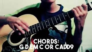 DI AKO FUCKBOY BY JROA GUITAR TUTORIAL