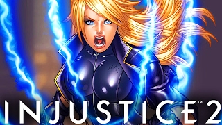 """Injustice 2: 65% DAMAGE! RUNNING FROM MY BLACK CANARY? - Injustice 2 """"Black Canary"""" Gameplay"""