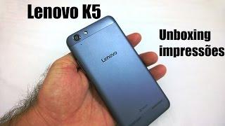 Lenovo Vibe K5 - Unboxing e Impressões