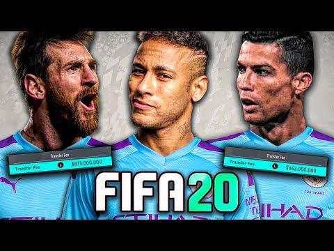 SIGNING MESSI, RONALDO, AND NEYMAR IN FIFA 20!! FIFA 20 Career Mode