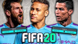 SIGNING MESSI, RONALDO, AND NEYMAR IN FIFA 20!! FIFA 20 Career Mode