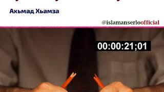 Ахьмад Хьамза: Шен оьгIазло хьуляр