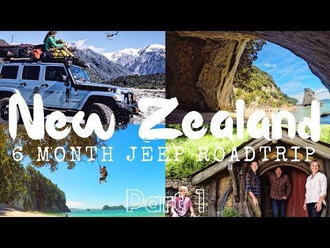 EPIC 6 Month NEW ZEALAND Road Trip Part 1: Shipping Jeep / North Island // Episode 13