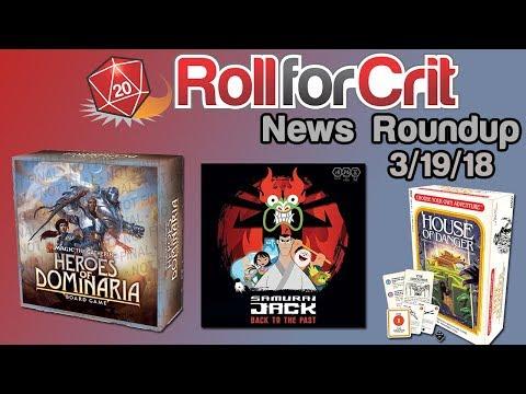 GAMA, Magic + Samurai Jack | News Roundup 3/19/18