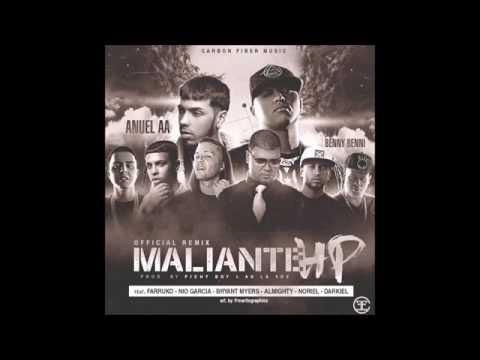 Maliante HP Remix - Benny Benni Ft. Anuel AA Farruko Nio Garcia & Mas! (Letra en descripcion)