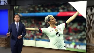 Commentary: Megan Rapinoe far from disrespecting country or flag in this World Cup