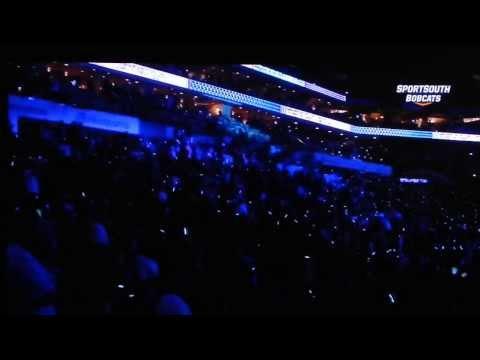Charlotte Hornets new logo-TimeWarner Cable Arena Dec 2013