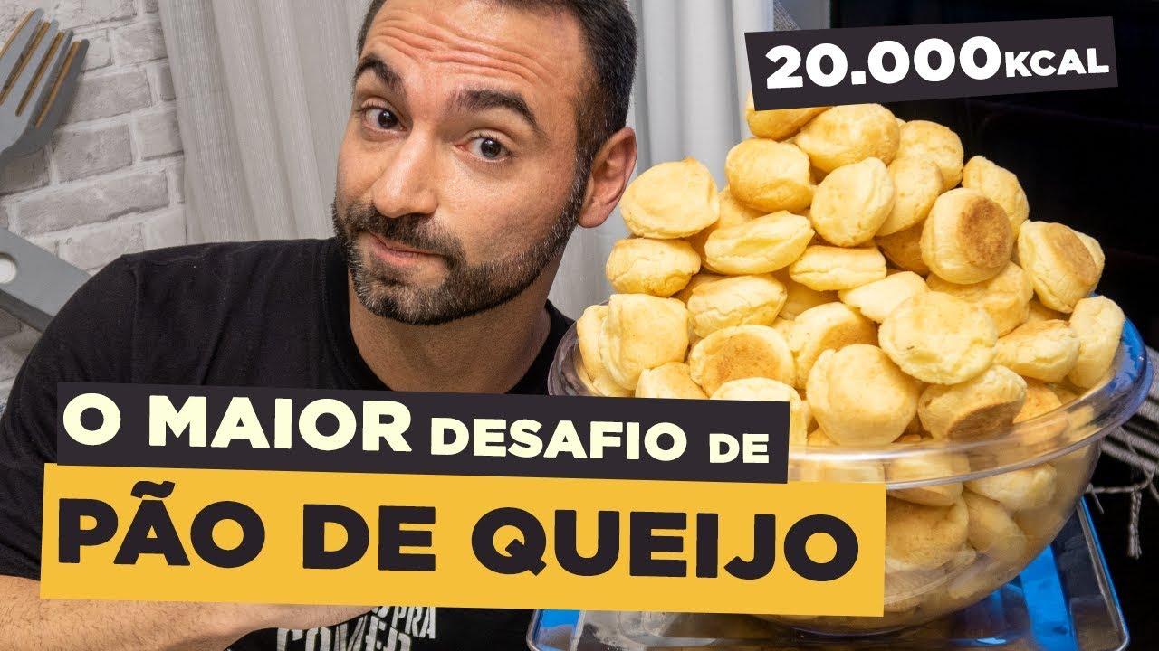 O MAIOR DESAFIO DE PÃO DE QUEIJO!!! ~20.000 KCAL