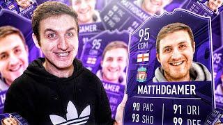EA SENT ME A FIFA CARD!
