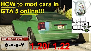 GTA online modded cars - How to mod cars 1.26, 1.28