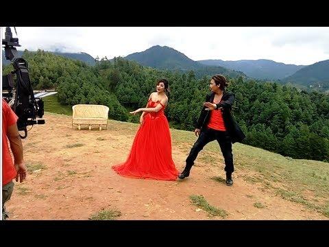 Making of jaba jaba Timro Saath - New Nepali Movie JOHNNY GENTLEMAN