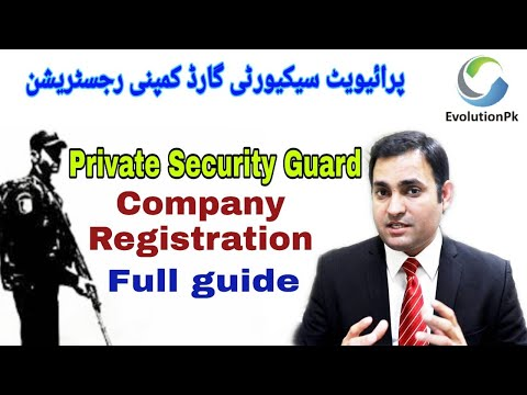 Security Agency / Private Security Guards Business Complete Information