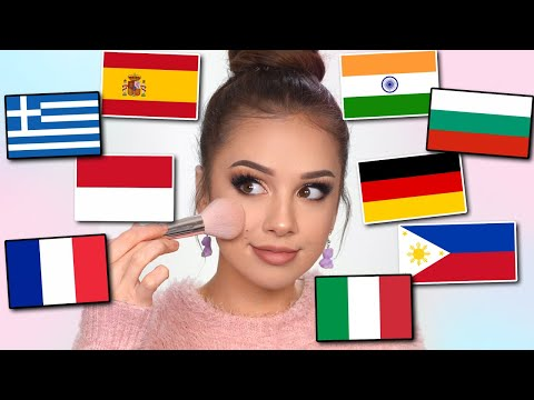 FOREIGN LANGUAGES Makeup CHALLENGE