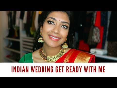 Indian Wedding Get Ready With Me | Vithya Hair and Makeup
