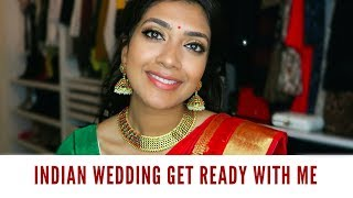 One of Vithya Hair and Make Up's most viewed videos: Indian Wedding Get Ready With Me | Vithya Hair and Makeup