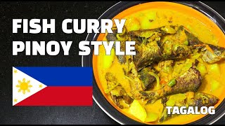 Fish Curry Pinoy Style - Mackerel Curry - Filipino Recipes - Tagalog - Youtube
