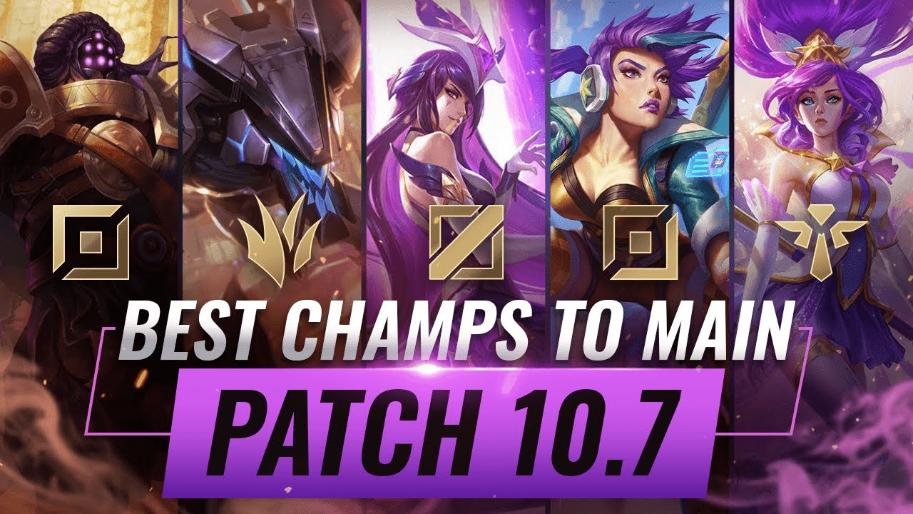 3 Best Champions To Main For Every Role In Patch 10 7 League Of Legends Season 10 Youtube