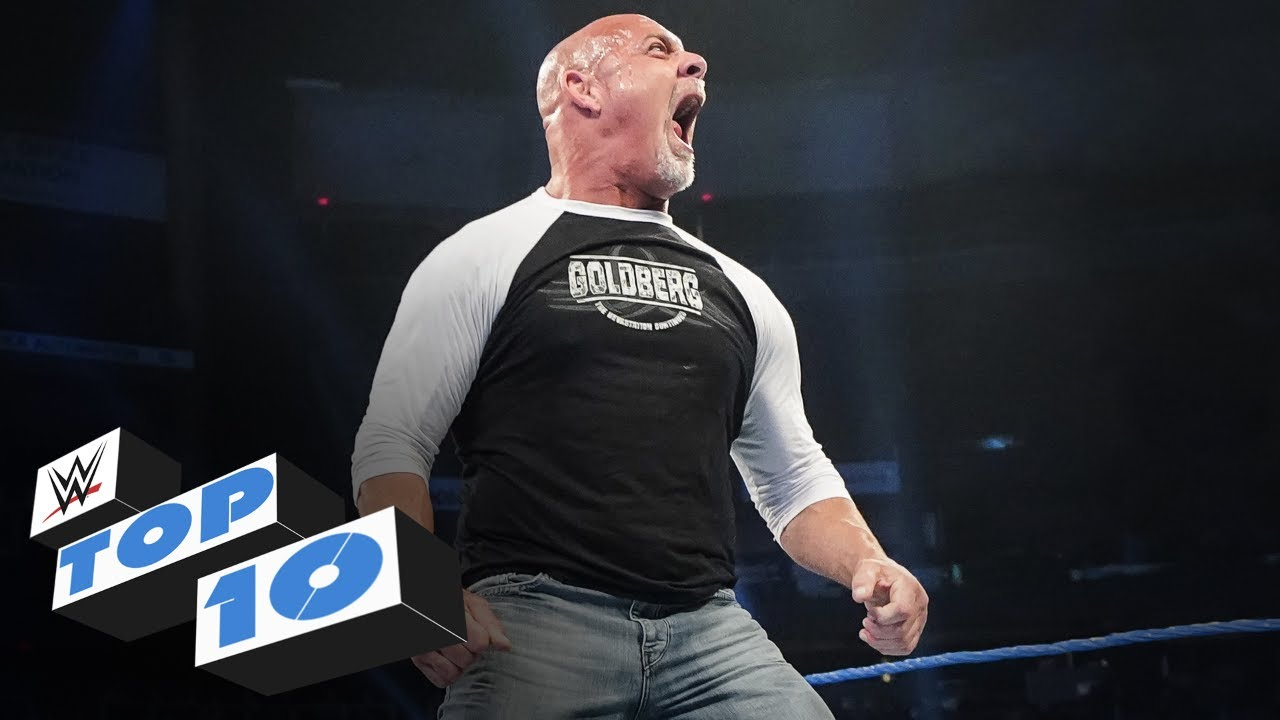 Top 10 Friday Night SmackDown moments: WWE Top 10, Feb. 21, 2020