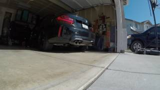 EVOLUTION RACEWERKS DOWNPIPE INSTALL! THE F30 SOUNDS GOOD