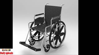 Wheelchair    Download free 3d cad models #100061 thumbnail