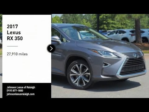 2017 Lexus RX 350 for sale in Raleigh NC