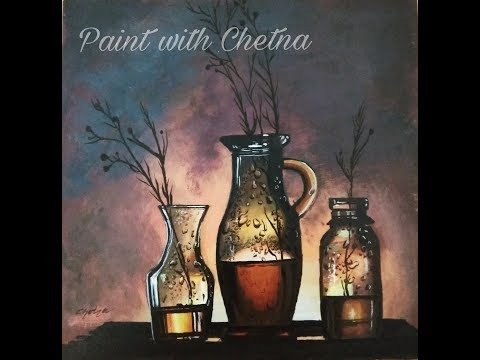 Still Life Painting |Acrylic Painting |For Beginners |Time Lapse