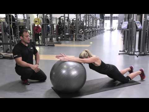SKLZ Stability Ball: Dynamic Plank Core Exercise
