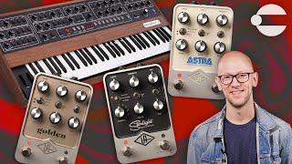 UAFX Pedals + Prophet-5 Synth (Starlight Echo, Golden Reverberator \u0026 Astra Modulation Machine)
