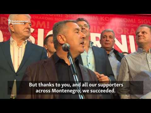 Pro-Western Party Celebrates Victory In Montenegro Vote