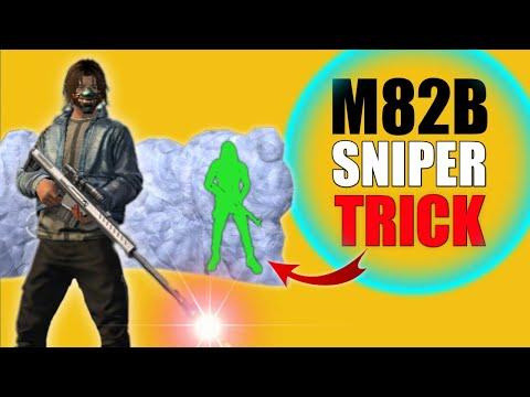New Sniper M82B Top 6 Tricks | Better than AWM ?