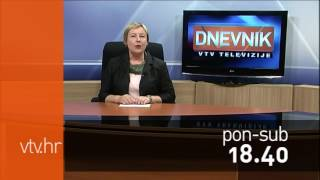 VTV Dnevnik najava 16. lipanj 2017.