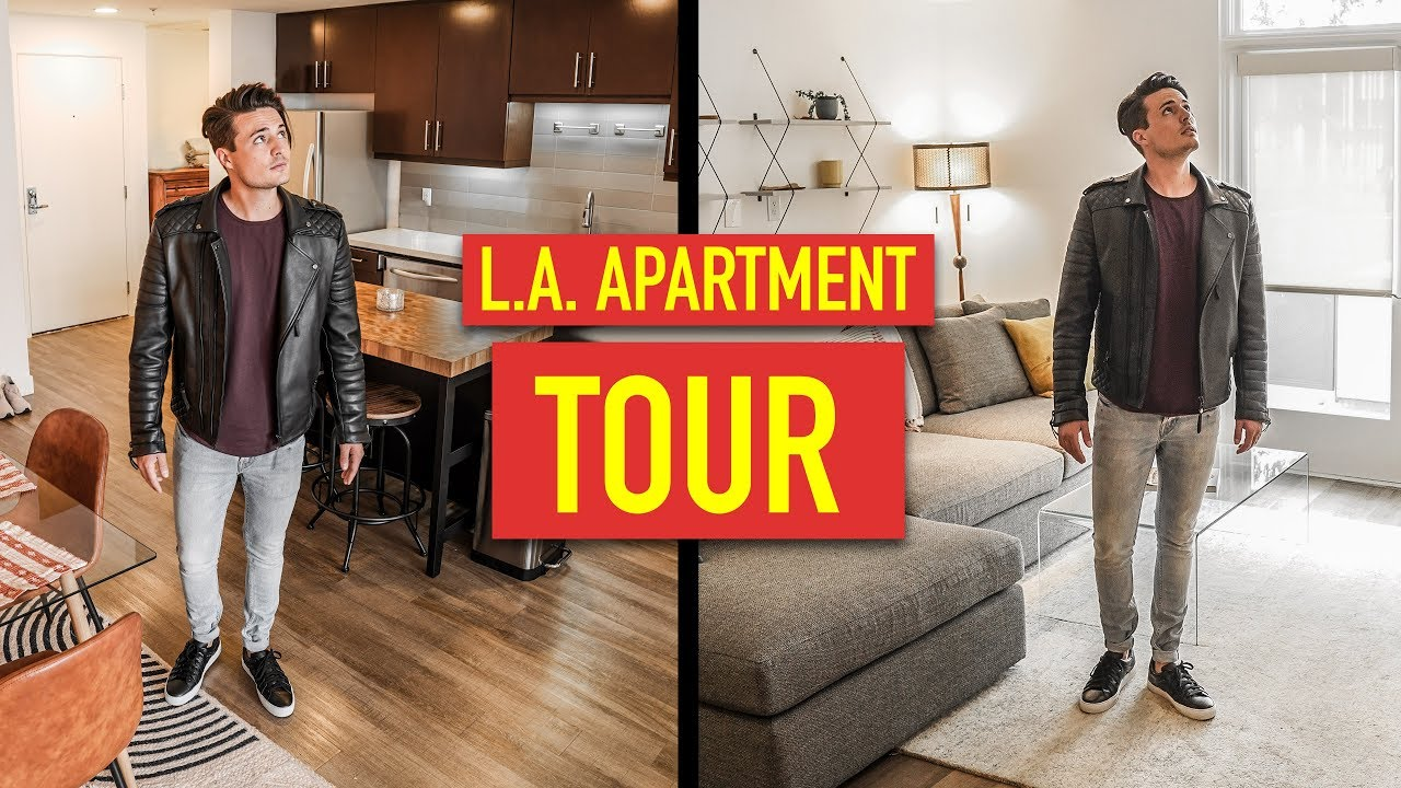 Checkout My Cool New Apartment Los Angeles Tour 2019