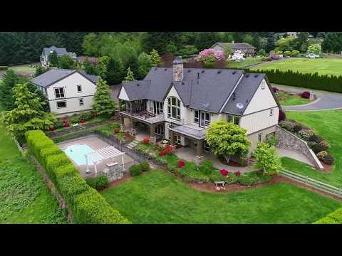 Grand Estate in Oregon Wine Country ~ Video of 16461 NE Mountain Home