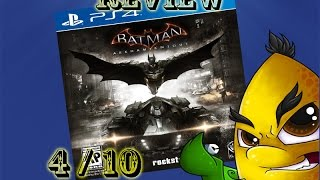 Batman Arkham Knight - Review - Disappointing (Video Game Video Review)