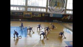 Чемпионат Украины по черлидингу 05.03.16 (3 место)