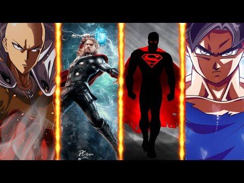 Saitama vs Thor vs black Superman vs Goku    battle of superheros    fully explained In HINDI   