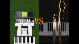 flight of the bumblebee | Roblox piano VS Real Piano