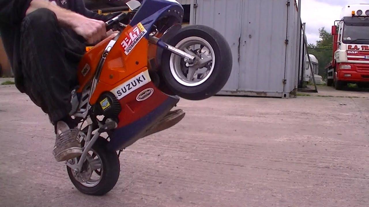 Mini Moto - Wheelies and Skids and Fails - RC Car Club - YouTube